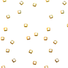 2.0mm Square Studs - Gold