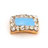 Nail Jewelry Pastel Blue Square