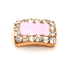 Nail Jewelry Pastel Pink Square