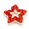 Nail Jewelry Red Star