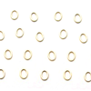 Plain Oval Gold - Small