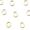 Plain Oval Gold - Large