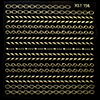 Decal Gold Lace 156
